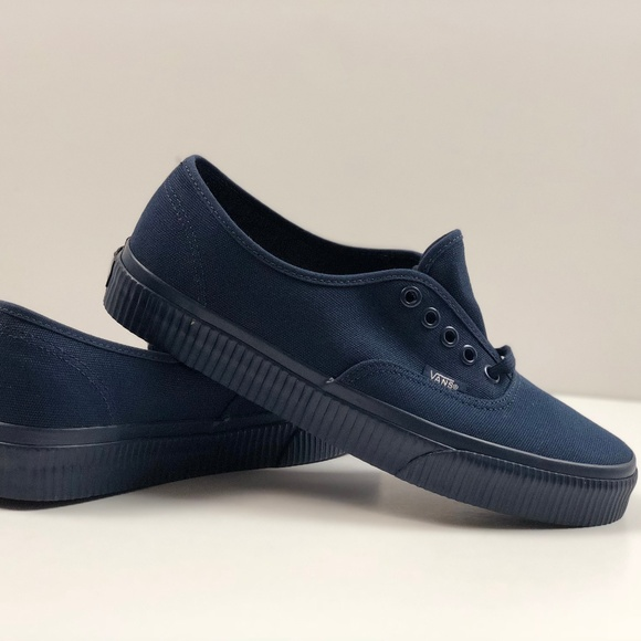 Vans Authentic Mono Surplus Dress Blues Sneakers. NWT 649a7f17a